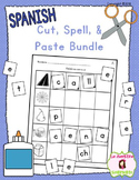 Cut, Spell, and Paste BUNDLE (Spanish)