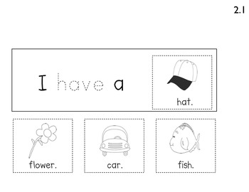 Cut, Stack, Staple Books for Kindergarten Reading Street Sight Words