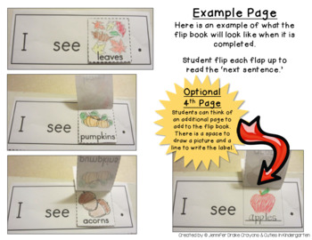 Season Flip Books!  THE BUNDLE Early Emergent Readers