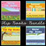 Season Flip Books!  THE BUNDLE Early Emergent Readers