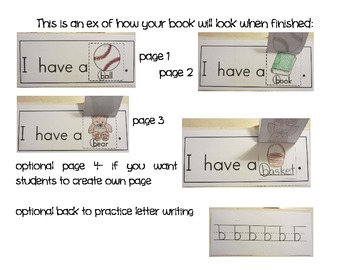 Cut, Stack, Staple, Read ~Early Emergent Readers A to Z~ NSW Font Version