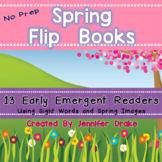 Spring Flip Books!  13 Early Emergent Readers