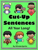 Cut-Up Sentences All Year Long!