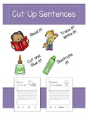 Cut Up Sentences Beginning Sounds - Free Version