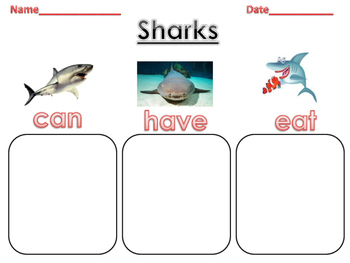 Cut Write Paste Sharks