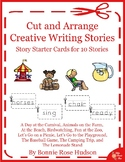 Cut and Arrange Stories-Set of 10 Story Starters
