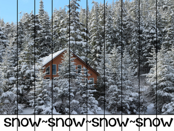Cut and Assemble Weather Puzzles with Real Photos