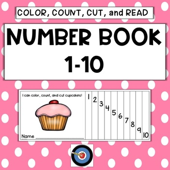 Cut and Color Number Book