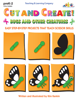 Cut and Create! Bugs and Other Creatures