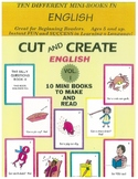 Cut and Create English Volume 1
