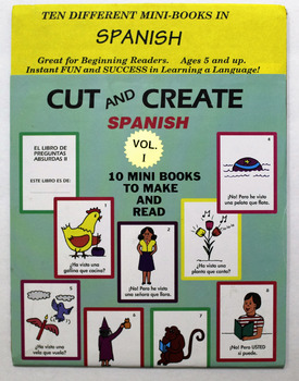 Cut and Create Spanish Volume One