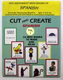 Cut and Create Spanish Volume One