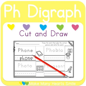 Cut and Draw:  Ph Digraph     MMHS21
