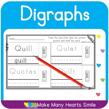 Cut and Draw:  Qu Digraph