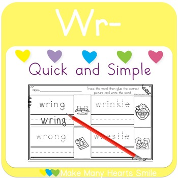 Cut and Draw:  Wr Digraph     MMHS21