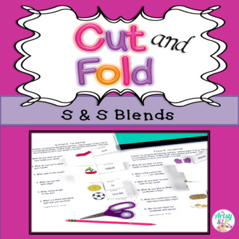 Cut and Fold S, S Blends Activity