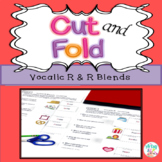 Cut and Fold Vocalic R & R Blends Activity