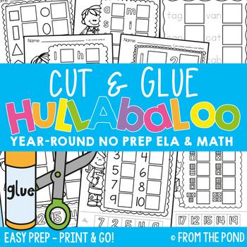 Morning Work {Cut and Glue Hullabaloo}