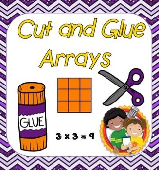 Cut and Glue Multiplication Arrays Project