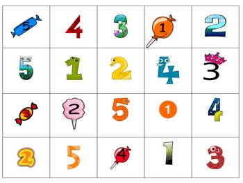 Cut and Glue Numbers 1 to 10