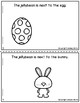 Cut and Glue Preposition Books for Easter