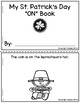 Cut and Glue Preposition Books for St. Patrick's Day