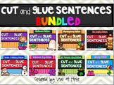 Cut and Glue Sentences BUNDLED