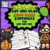 Halloween Activities for 2nd 3rd | Sight Word Sentences 2nd 3rd Grade