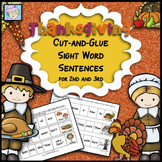 Thanksgiving Activities 2nd Grade 3rd | Sight Words Thanksgiving