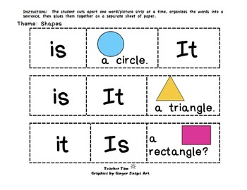 Sight Words Sentences for Beginning Readers | Sight Words Kindergarten