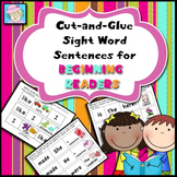 Sight Words Sentences for Beginning Readers | Sight Words
