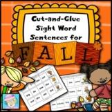 Fall Activities Kindergarten 1st | Fall Activities 1st Grade Sight Words