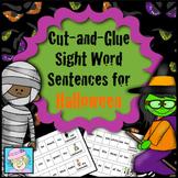 Halloween Activities Kindergarten First Grade Sight Words