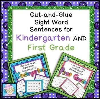 Sight Words Worksheets 1st Grade Kindergarten Sight Words
