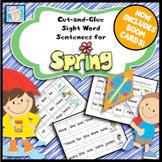 Spring Activities 1st Grade & Kindergarten with BOOM CARDS SPRING