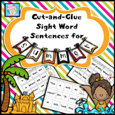Sight Words Kindergarten | First Grade Sight Words for Summer Dolch Words