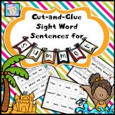 Summer Sight Words Worksheets Kindergarten 1st Grade