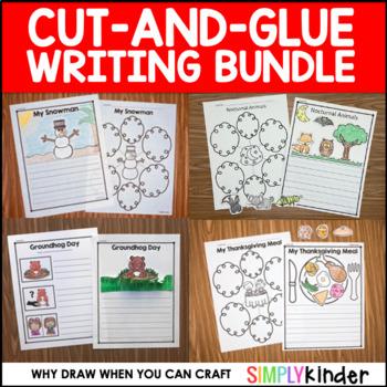 Cut-and-Glue Writing Bundle