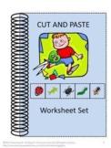 Kindergarten Morning Work Math & Literacy Centers Cut and