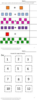 Shapes Worksheets,Shapes Cut and Paste,Math Centers, Special Educaton