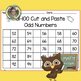 Cut and Paste 1-50, 51-100 Charts, +1, -1, +10, -10, Odd and Even...First Grade