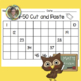 Cut and Paste 1-50, 51-100 Charts, +1, -1, +10, -10, Odd and Even First Grade