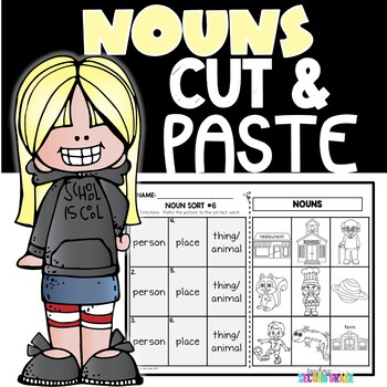 Cut and Paste Activities | Nouns
