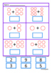 Autism Cut and Paste Addition 1-10 Math Worksheets, Specia