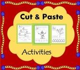 Cut and Paste Alphabet Activities -  {Preschool to Second Grade}