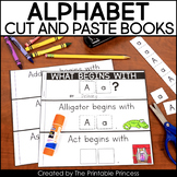Cut and Paste Alphabet Books to Teach Letter Recognition and Beginning Sounds