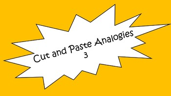 Cut and Paste Analogies 3