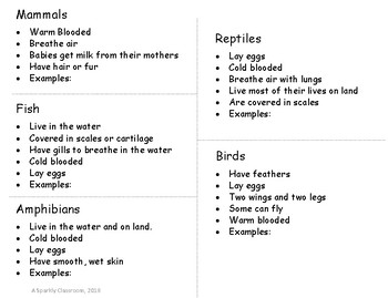 Cut-and-Paste Animal Guide