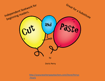 Cut and Paste Beginning Readers