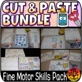 Cut and Paste Bundle No Prep Alphabet Numbers Sight Words